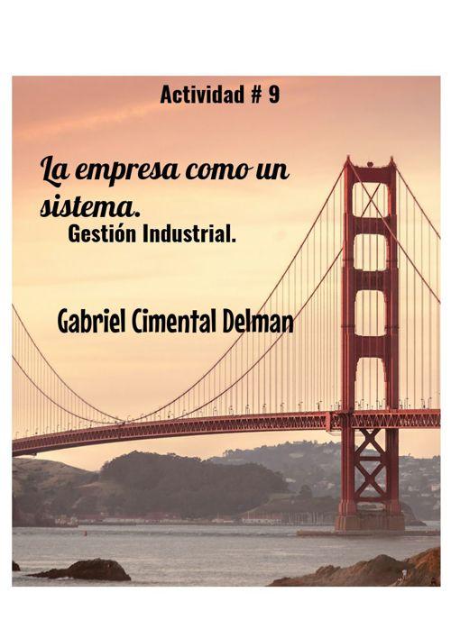 Actividad # 9 Gestión Industrial.