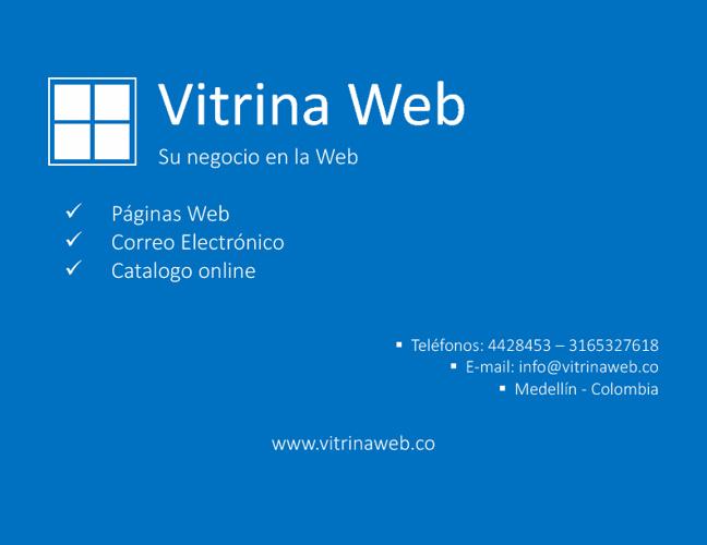 Vitrina Web