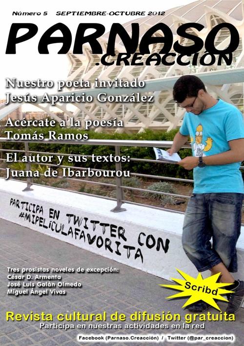 Revista Parnaso Septiembre 2012