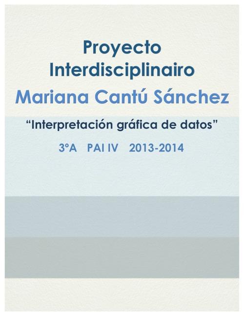 INTERDISCIPLINARIO MARIANA