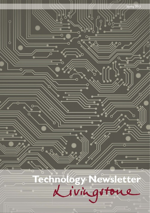 Technology Newsletter Spring 2013