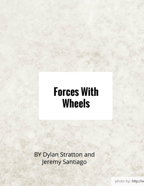 forces with wheels