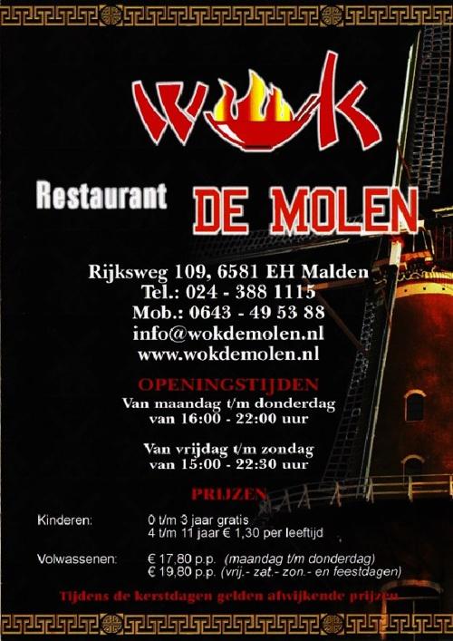 Wokrestaurant De Molen