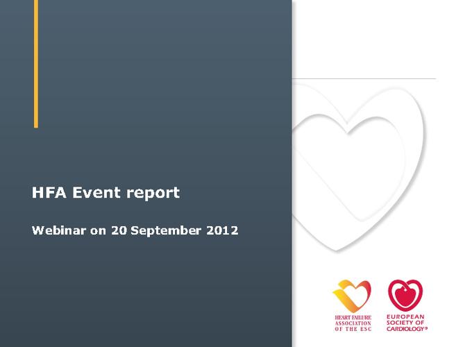 HFA event report - Test