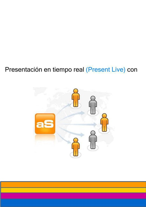 Presentación en vivo con authorStream
