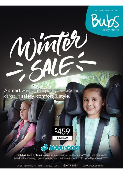 Bubs Baby Shops 2017 Winter Sale Catalogue