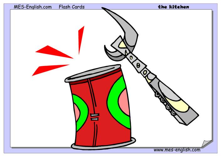 Flashcards- Kitchen Utensils