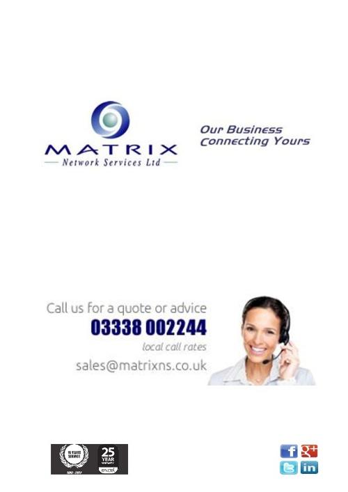 Matrix Network Services Ltd