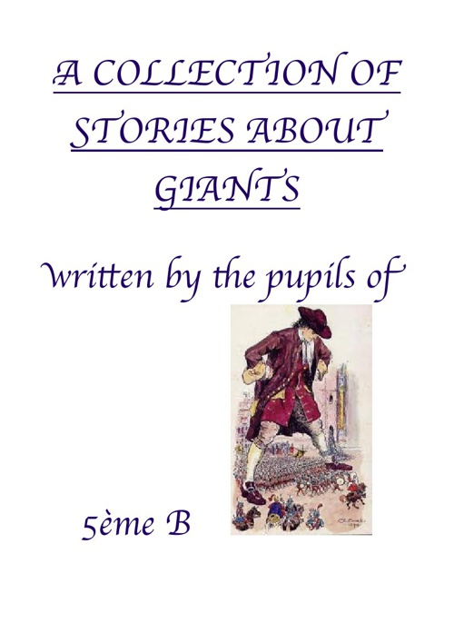 A collection of stories about giants