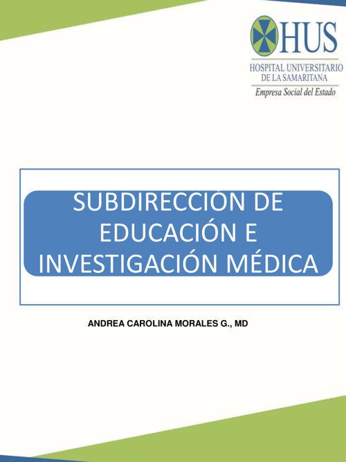 Educación médica-Modelo de investigación