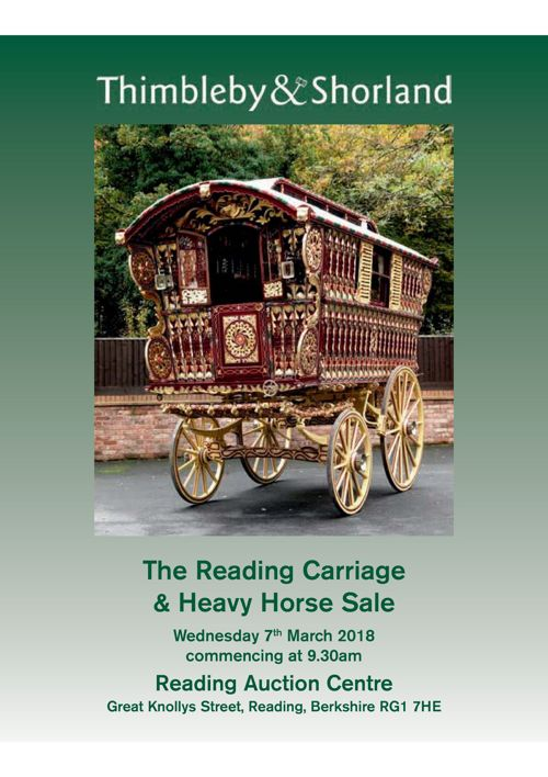 The Spring Reading Carriage & Heavy Horse Sale Catalogue
