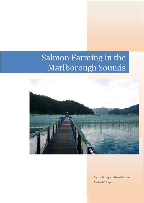 Salmon Aquaculture Report (Hannah & Crystal)