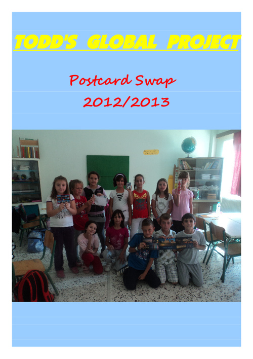 Postcard Swap 2012/21013