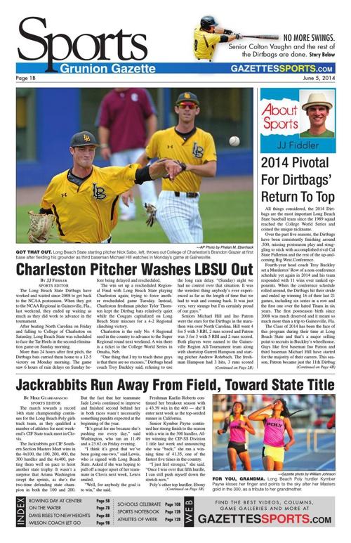 Gazette Sports 6-5-14