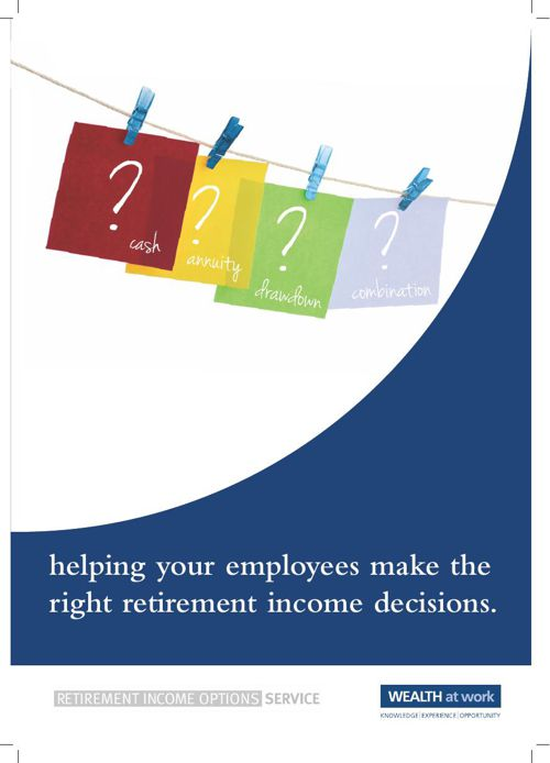 Retirement Income Options Brochure