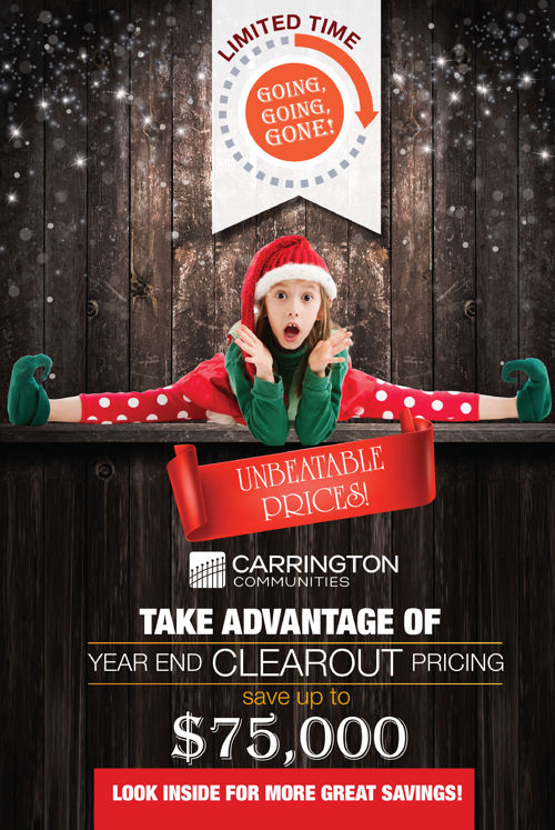Carrington December 2016 Condo Guide