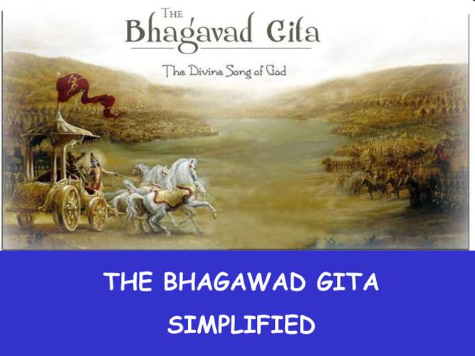 Bhagwat Gita Simplified