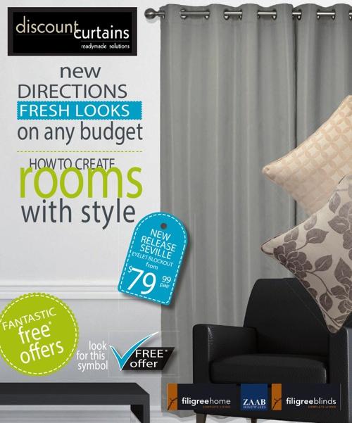 Discount Curtains Filigree