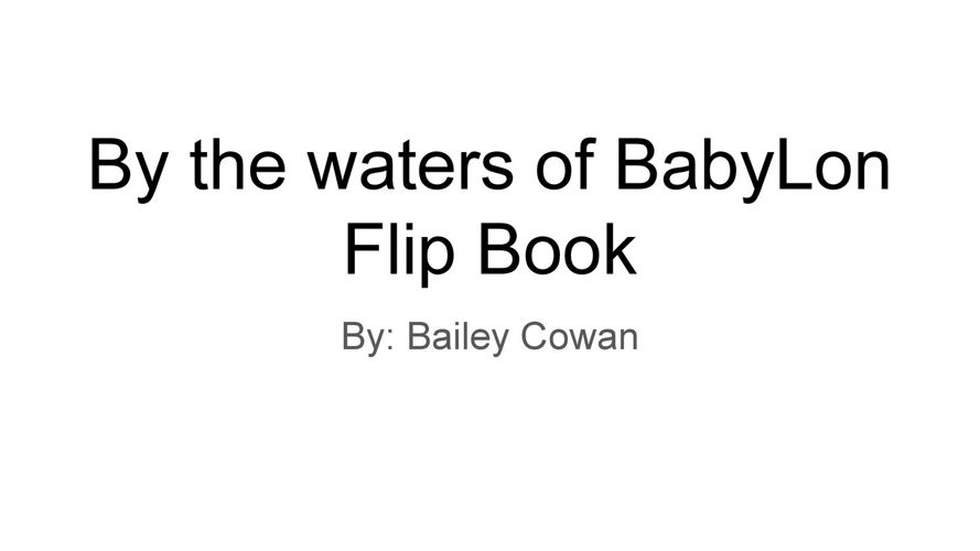 By the waters of BabyLon Flip Book