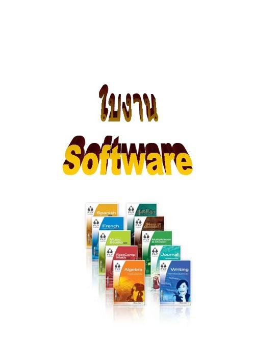 Copy of ใบงาน software