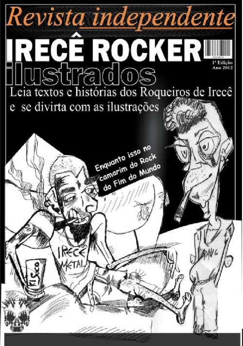 Revista IRECÊ ROCKER ILUSTRADOS