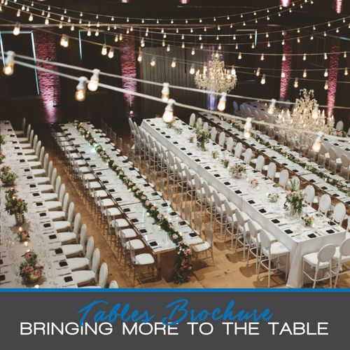 All Occasions Party Rental - Tables Brochure