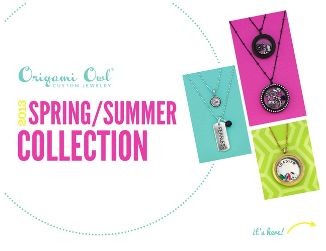Origami Owl Spring/Summer 2013 Collection