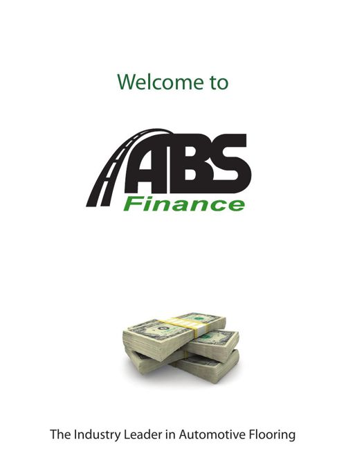 ABS FInance FLIPBOOK Cover