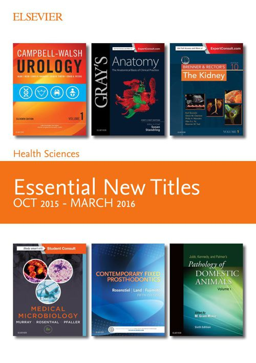 Essential New Titles October 2015 - March 2016