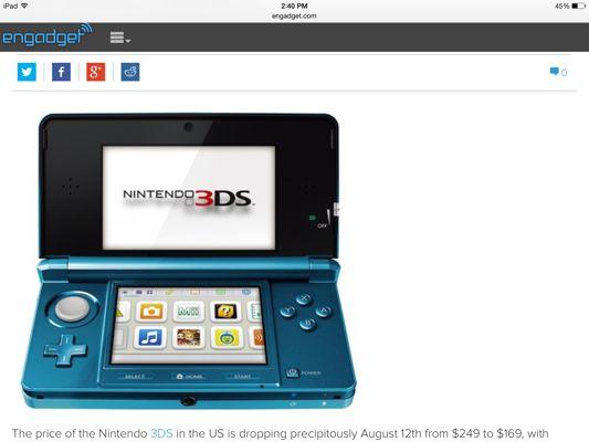 The story of a blue Nintendo