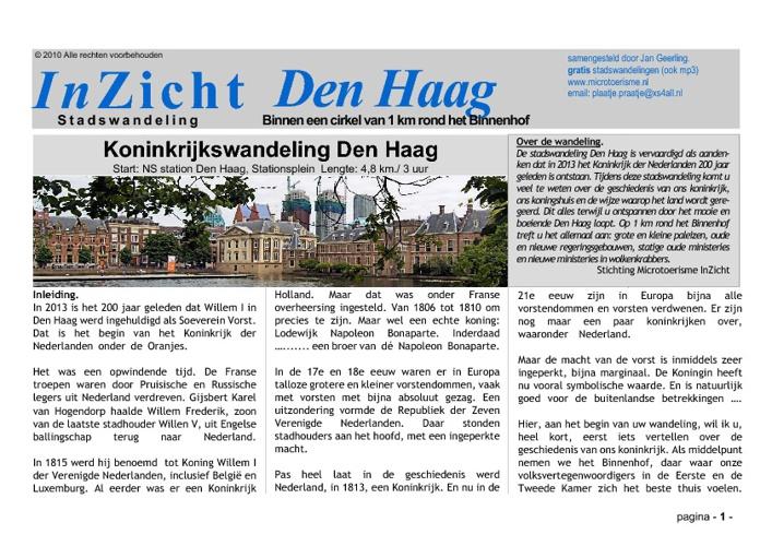 InZicht Den Haag