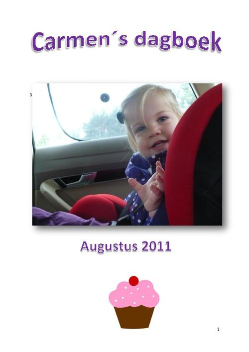 Dagboek Carmen augustus 2011