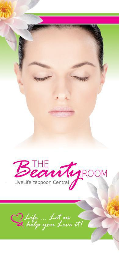 Beauty Room Menu