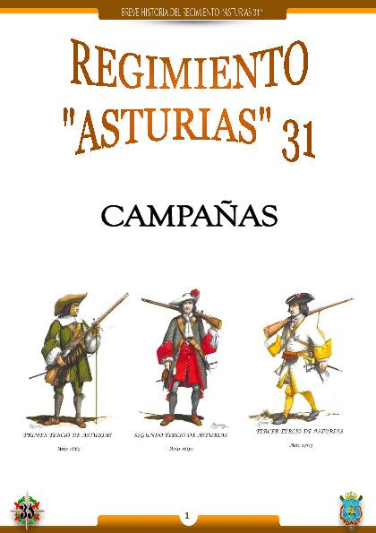 CAMPAÑAS DEL ASTURIAS