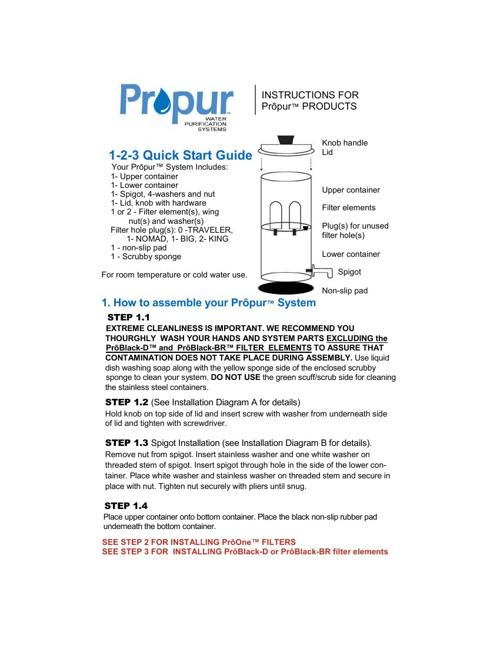 Propur Instructions v91913