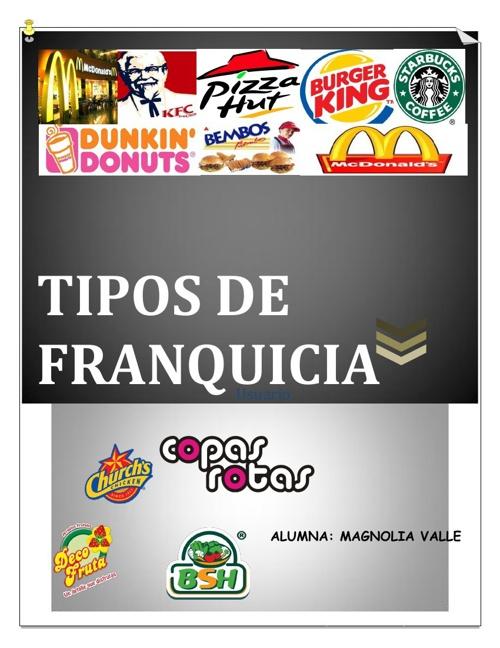 Tipos de Franquicia-MAGNOLIA