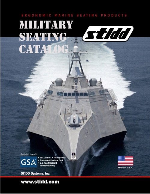 STIDD Military Seating Catalog 2013