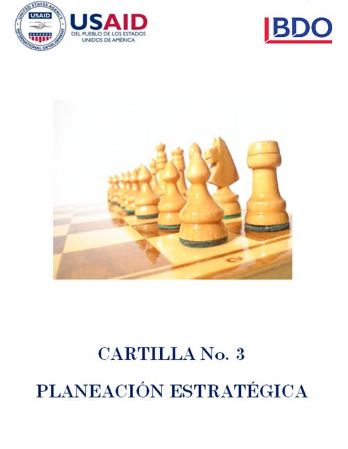 3 - Cartilla Planeación Estratégica