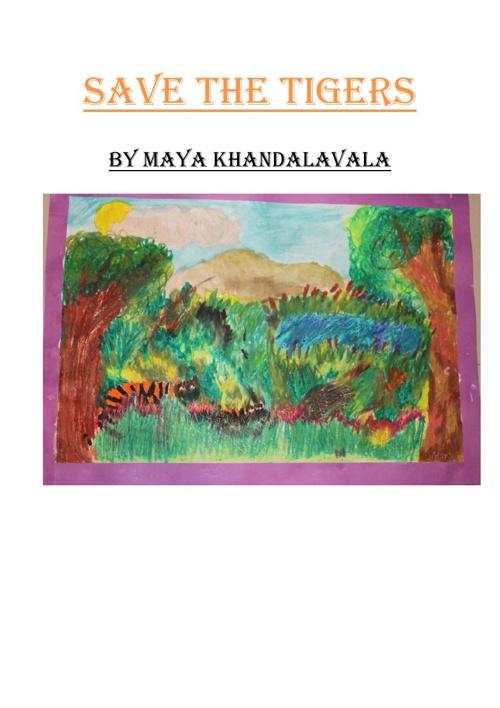 Maya's Tiger book