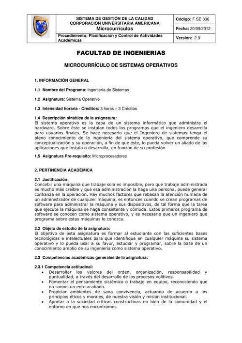 Microcurriculo Sistemas Operativos