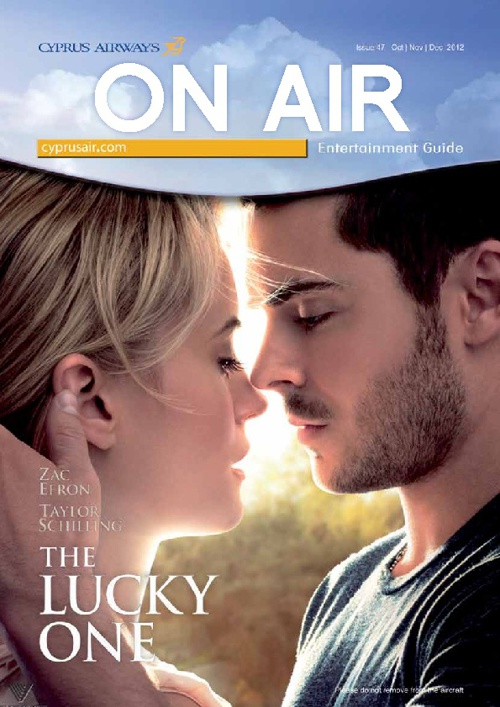 Cyprus Airways ON AIR Entertainment Guide Issue 47