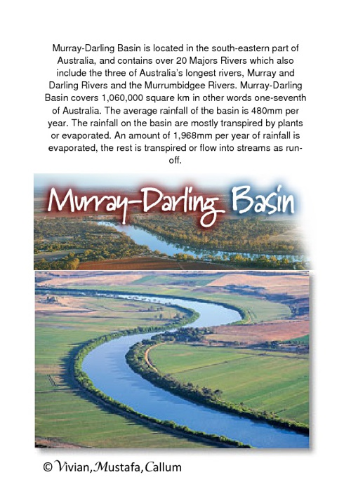 Muray-Darling Basin.