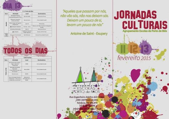 Jornadas Culturais 2015 - Agrupamento de Escolas de Porto de Mós