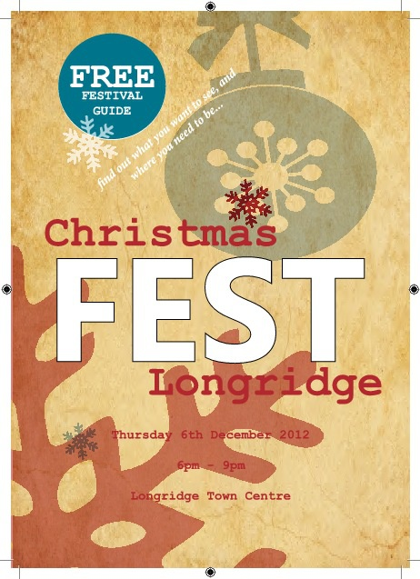 Longridge Christmas Festival 2012 Programme