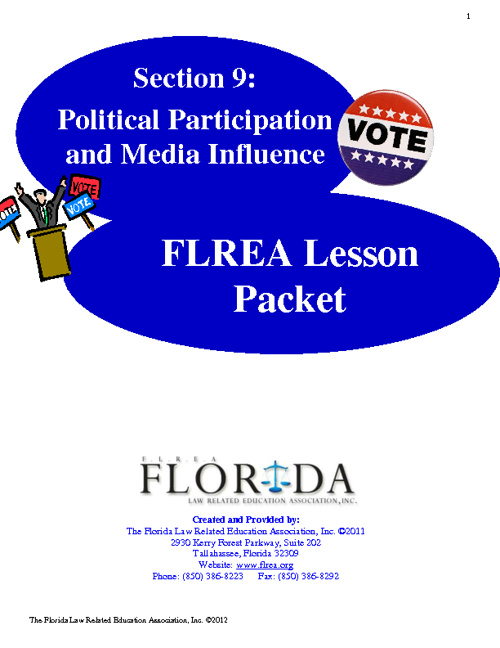 Section 9 - Political Participation and Media Influence