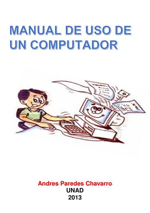 MANUAL DE USO DE UN COMPUTADOR