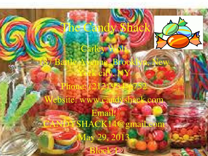 The Candy Shack 1