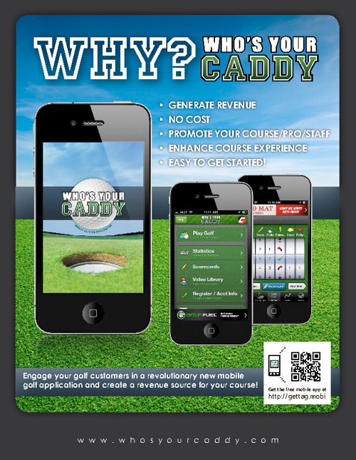 Who's Your Caddy for Golf Courses, Clubs, and Pros.