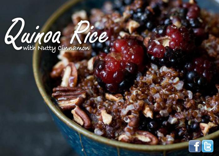 Quinoa Rice with Nutty Cinnamon