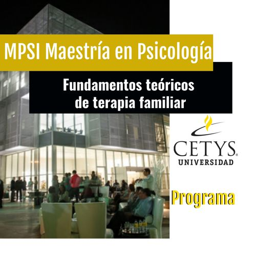 Fundamentos teóricos de terapia familiar Cetys Universidad